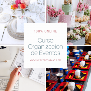 Curso Organizacion de eventos on line